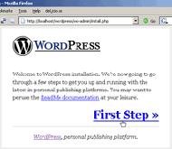 wp setup12.thumbnail Local de wordPress Kurulumu [easyphp]
